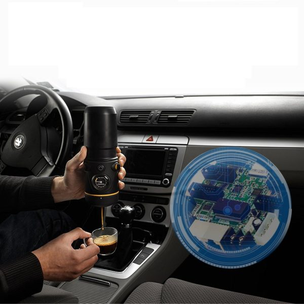 Smart vehicle-mounted coffee solution
